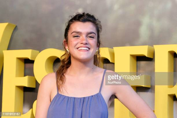 Singer Amaia attends the premiere of Danny Boyle Yesterday at the capitol cinema on June 25 2019 in Madrid Spain