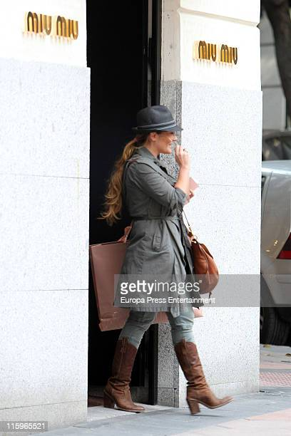 Singer Amaia Montero and a friend are seen sighting on June 13 2011 in Madrid Spain