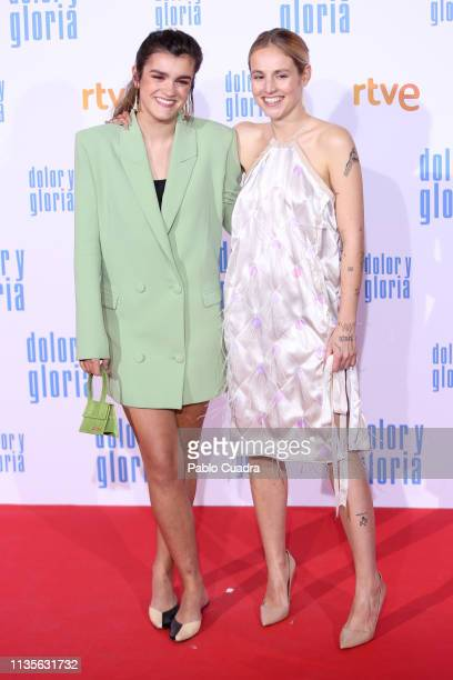 Singer Amaia Romero attends the 'Dolor y Gloria' premiere at Capitol cinema on March 13 2019 in Madrid Spain