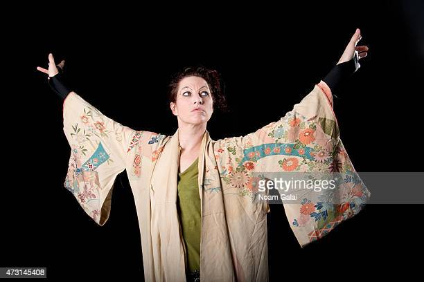 Singer Amanda Palmer poses for a portrait on August 22 2012 in New York City