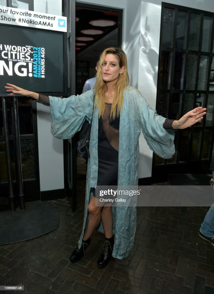 Singer Amanda Warner of MNDR attends the Rolling Stone Magazine Official 2012 American Music Awards VIP after party presented by Nokia and Rdio at Rolling Stone Restaurant And Lounge on November 18, 2012 in Los Angeles, California.