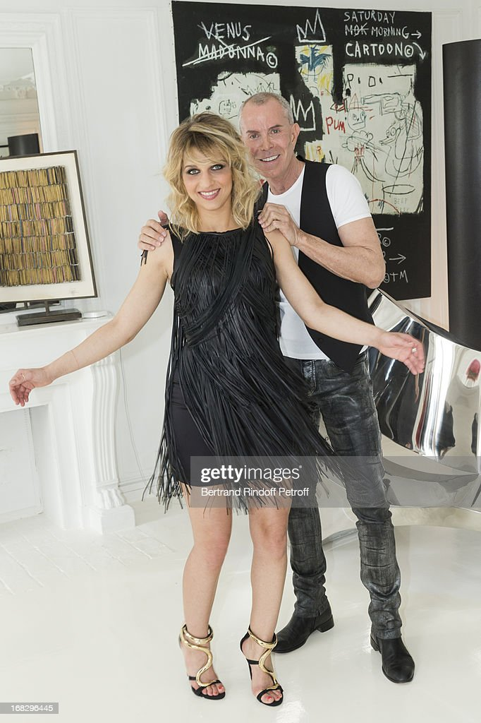 Designer Jean-Claude Jitrois Creates Amandine Bourgeois' Dress For The Eurovision Song Contest 2013