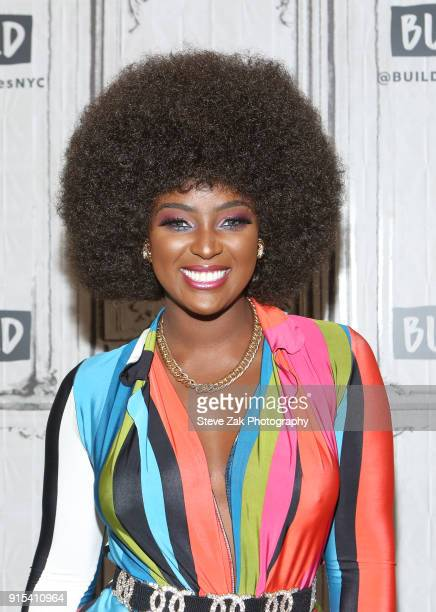 Singer Amara La Negra attends Build Series to discuss 'Love and Hip Hop Miami' at Build Studio on February 7 2018 in New York City