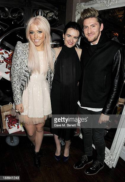 Singer Amelia Lily Editor of InStyle Magazine Eilidh MacAskill and designer Henry Holland attend 'Film InStyle' in association with Land Rover...