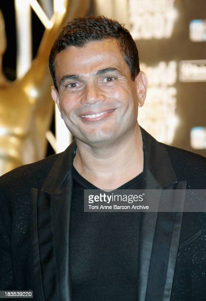 Singer Amr Diab attends the 2007 World Music Awards held at the Sporting Club on November 4 2007 in Monte Carlo Monaco