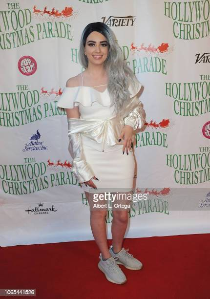 Singer Amy Boiss attends 87th Annual Hollywood Christmas Parade on November 25 2018 in Hollywood California