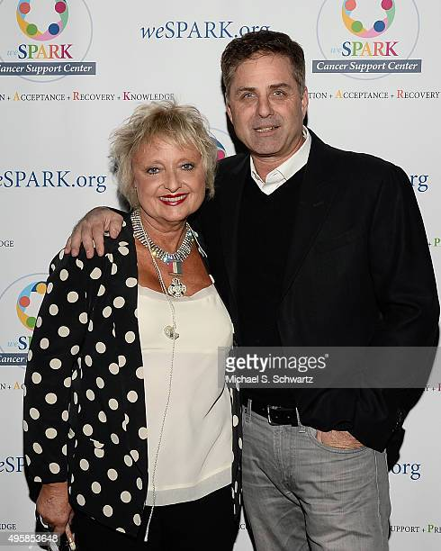 Singer Amy Holland McDonald and television personality Mark Walberg attend the weSpark Cancer Support Center Benefit Concert 'An Evening with Michael...
