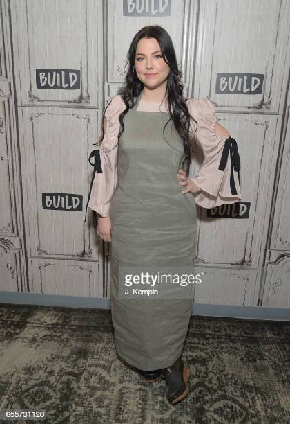 Singer Amy Lee attends Build Series at Build Studio on March 20 2017 in New York City