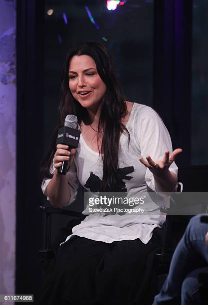 Singer Amy Lee attends Build Series to discuss her new album 'Dream Too Much' at AOL HQ on September 30 2016 in New York City