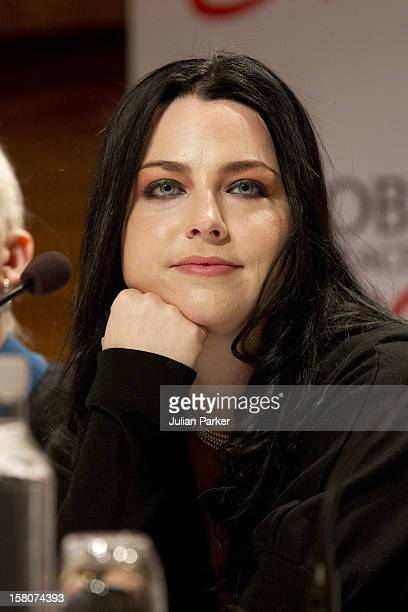 Singer Amy Lee From Evanescence Attends The Nobel Peace Prize Concert Press Conference At The Radisson Blu Plaza Hotel Oslo