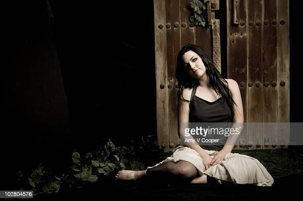 Singer Amy Lee of Evanescence poses at a portrait session for mtvcom in New York City on August 2 2006