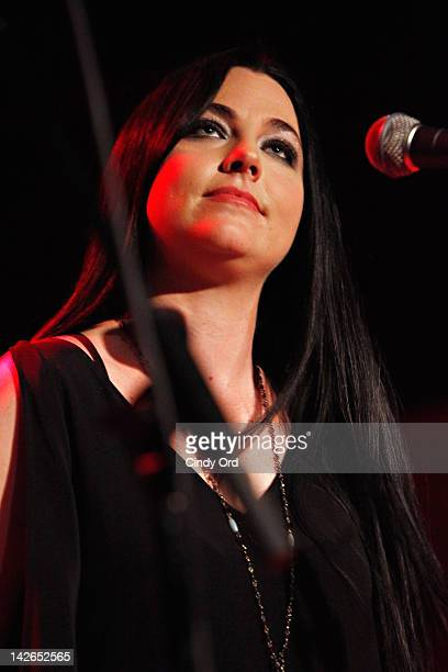 Singer Amy Lee performs at the Restore Freedom Gala 2012 at City Winery on April 10 2012 in New York City