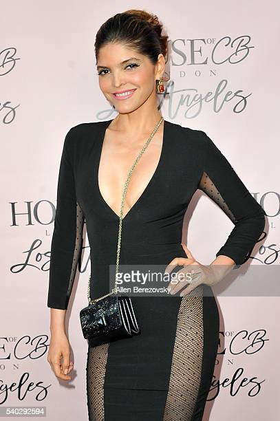 Singer Ana Barbara attends the House of CB Flagship Store Launch party at the House of CB on June 14 2016 in West Hollywood California