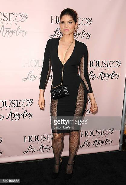 Singer Ana Barbara attends the House of CB flagship store launch at House Of CB on June 14 2016 in West Hollywood California