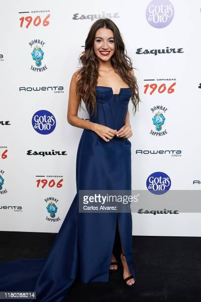 Singer Ana Guerra attends 'Hombres Esquire' 2019 awards at the Kapital Club on October 10 2019 in Madrid Spain