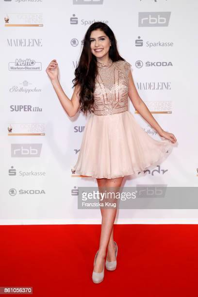 Singer Ana Lisa Kohler attends the Goldene Henne on October 13 2017 in Leipzig Germany