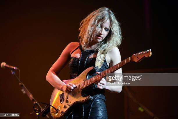Singer Ana Popovich performs onstage during Experience Hendrix concert at The Wiltern on March 1, 2017 in Los Angeles, California.