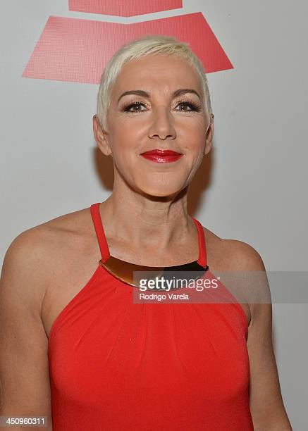 Singer Ana Torroja attends the 2013 Latin Recording Academy Special Awards during the 14th annual Latin GRAMMY Awards on November 20 2013 in Las...
