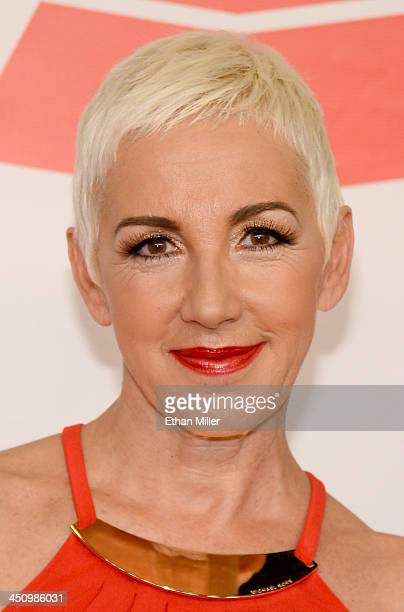Singer Ana Torroja attends the 2013 Person of the Year honoring Miguel Bose at the Mandalay Bay Convention Center on November 20 2013 in Las Vegas...