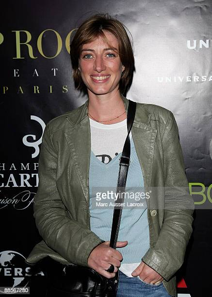 Singer Anais attends Label AZ Annual Music Party at the VIP Room Theatre on June 18 2009 in Paris France