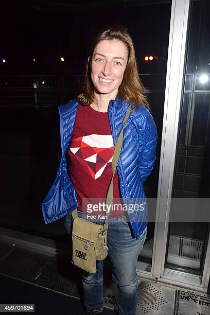 Singer Anais attends Les Dunes Electroniques Tunisian Musical Festival Launch Party at Institut du Monde Arabe on November 28 2014 in Paris France