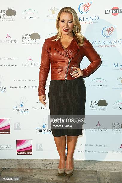 Singer Anastacia arrives at Children For Peace Gala at Spazio Novecento on November 28 2015 at Spazio Novecento in Rome Italy