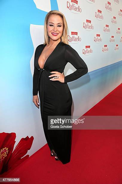 Singer Anastacia during the Raffaello Summer Day 2015 to celebrate the 25th anniversary of Raffaello on June 20 2015 in Berlin Germany