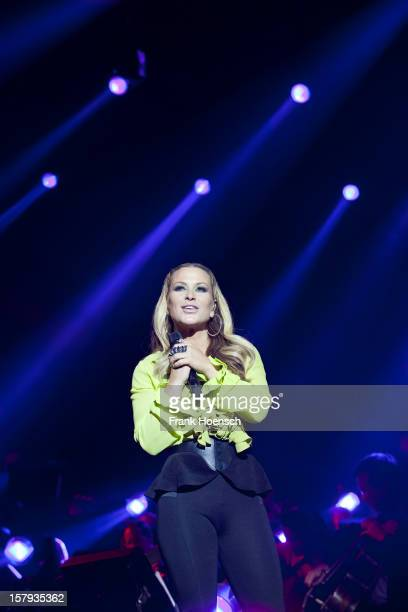 Singer Anastacia performs live during AIDA Night Of The Proms at the O2 World on December 7 2012 in Berlin Germany