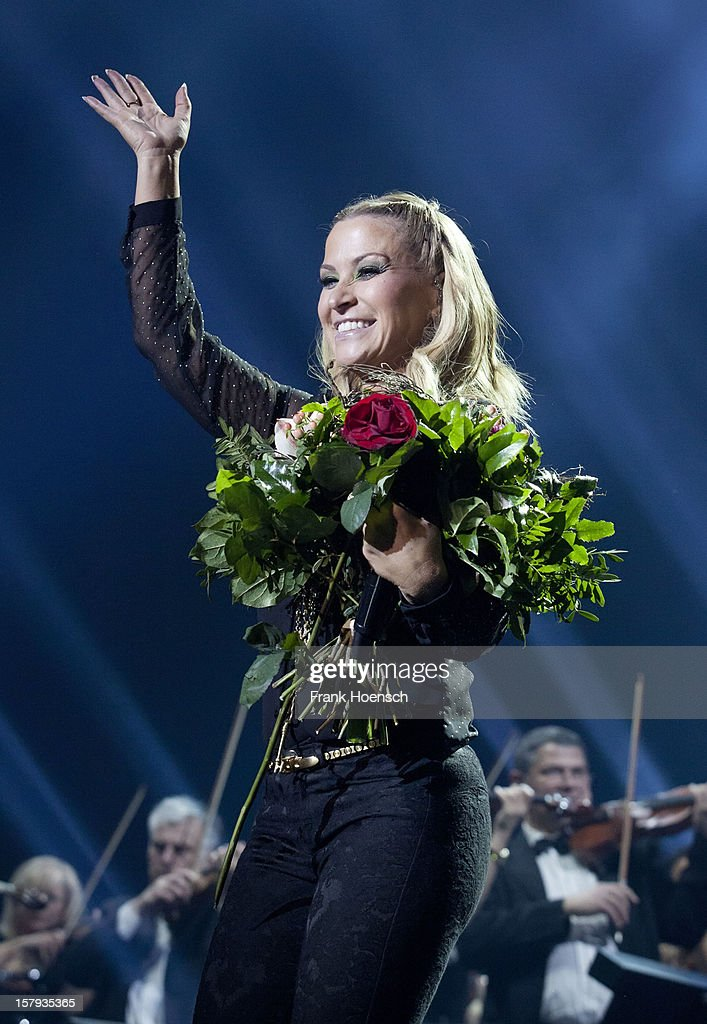 Singer Anastacia performs live during AIDA Night Of The Proms at the O2 World on December 7, 2012 in Berlin, Germany.