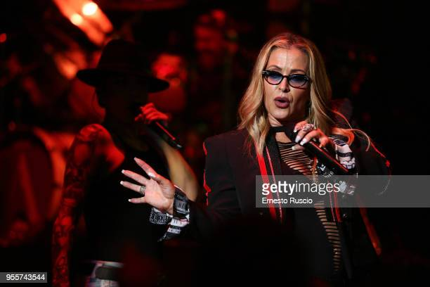 Singer Anastacia performs onstage at Auditorium Parco Della Musica on May 7 2018 in Rome Italy