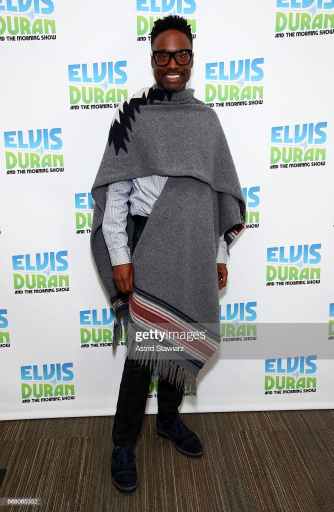 "Billy Porter Visits ""The Elvis Duran Z100 Morning Show"""