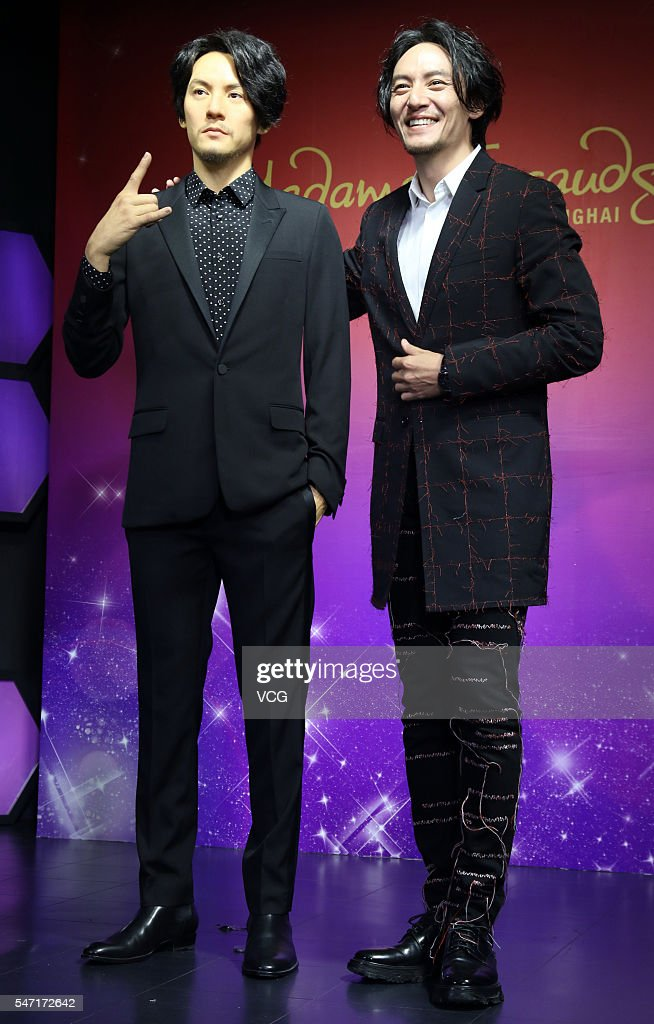Chen Chang Unveils His Wax Figure In Shanghai