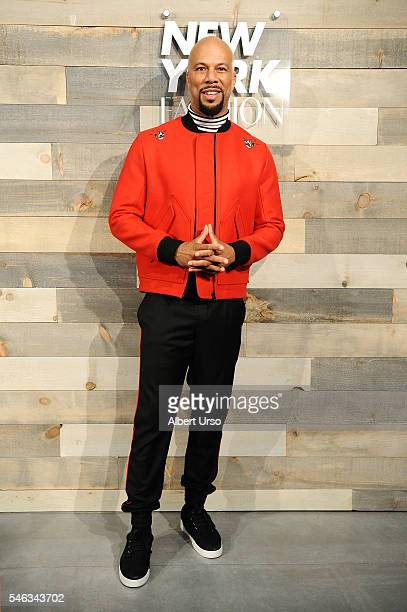 Singer and actor Common attends the CFDA x Cadillac opening night party during New York Fashion Week: Men's Spring/Summer 2017 at Cadillac House on...