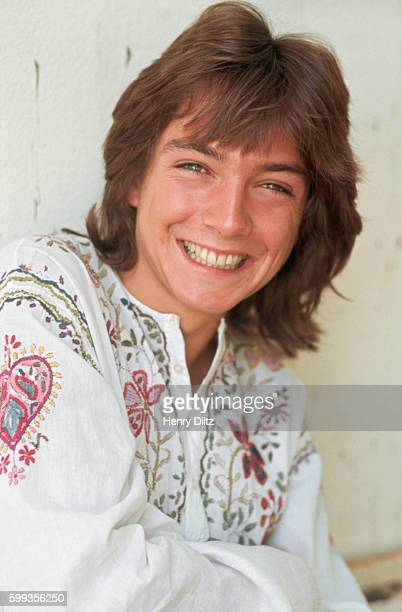 Singer and actor David Cassidy from the television show The Partridge Family on vacation in Hawaii