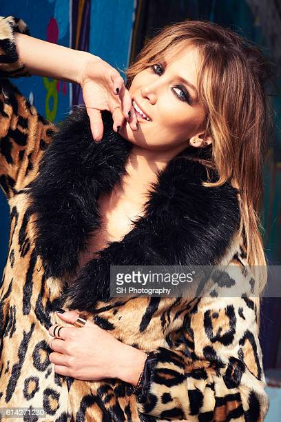 Singer and actor Delta Goodrem is photographed for Notion magazine on February 12 2015 in London England
