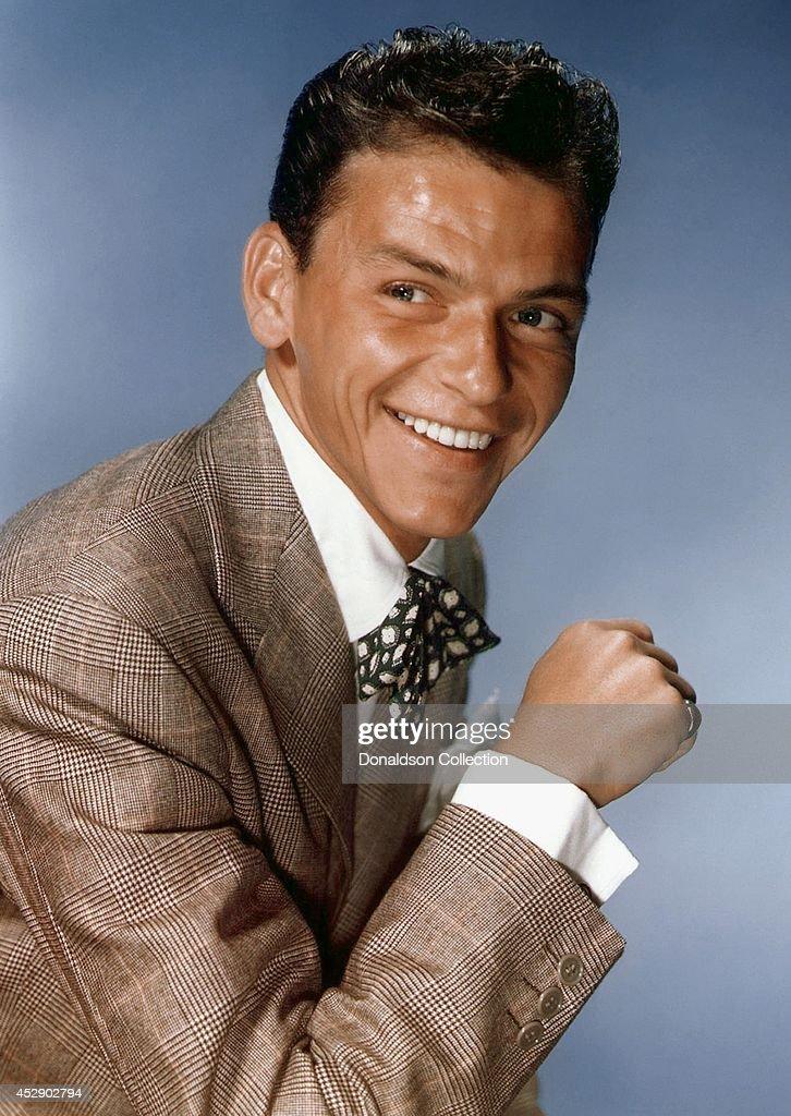 Frank Sinatra Portrait : News Photo