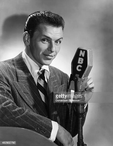 Singer and actor Frank Sinatra poses for a portrait to promote his NBC Radio show circa 1946 in New York City /Getty Images