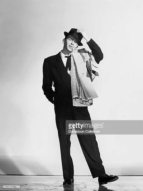 Singer and actor Frank Sinatra poses for a publicity still for the movie 'Pal Joey' in 1957 in Los Angeles California /Getty Images