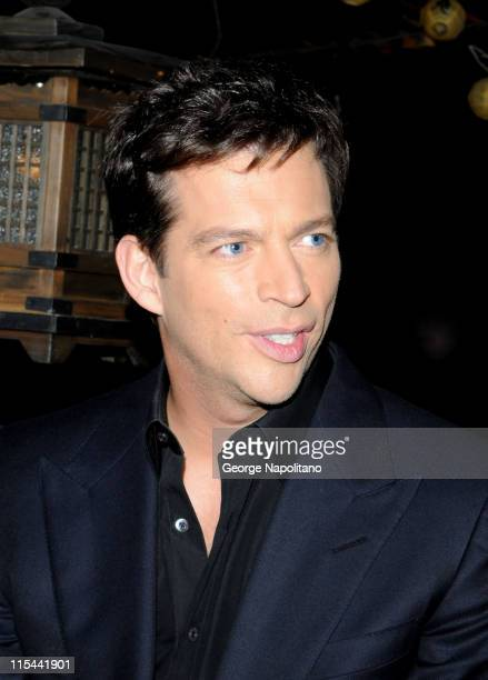 Singer and actor Harry Connick Jr attends his CD release party at Hiro Ballroom at The Maritime Hotel on September 22 2009 in New York City