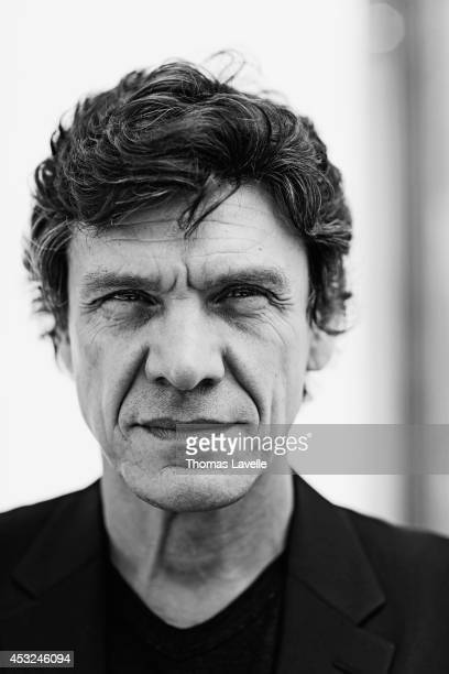 Singer and actor Marc Lavoine is photographed for Le Film Francais on June 20 2014 in Paris France
