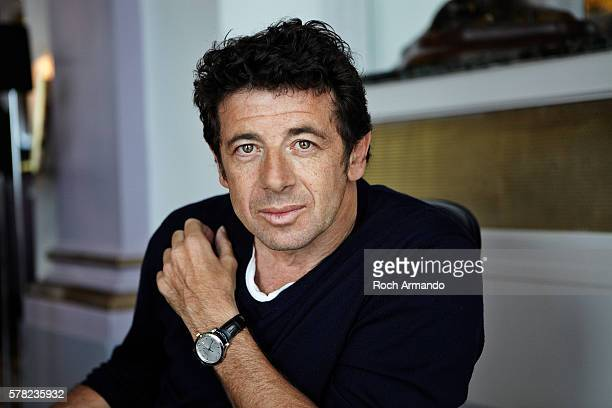 Singer and actor Patrick Bruel is photographed for Self Assignment on June 21 2012 in Cabourg France