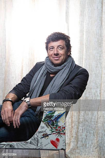Singer and actor Patrick Bruel is photographed in Cannes, France.