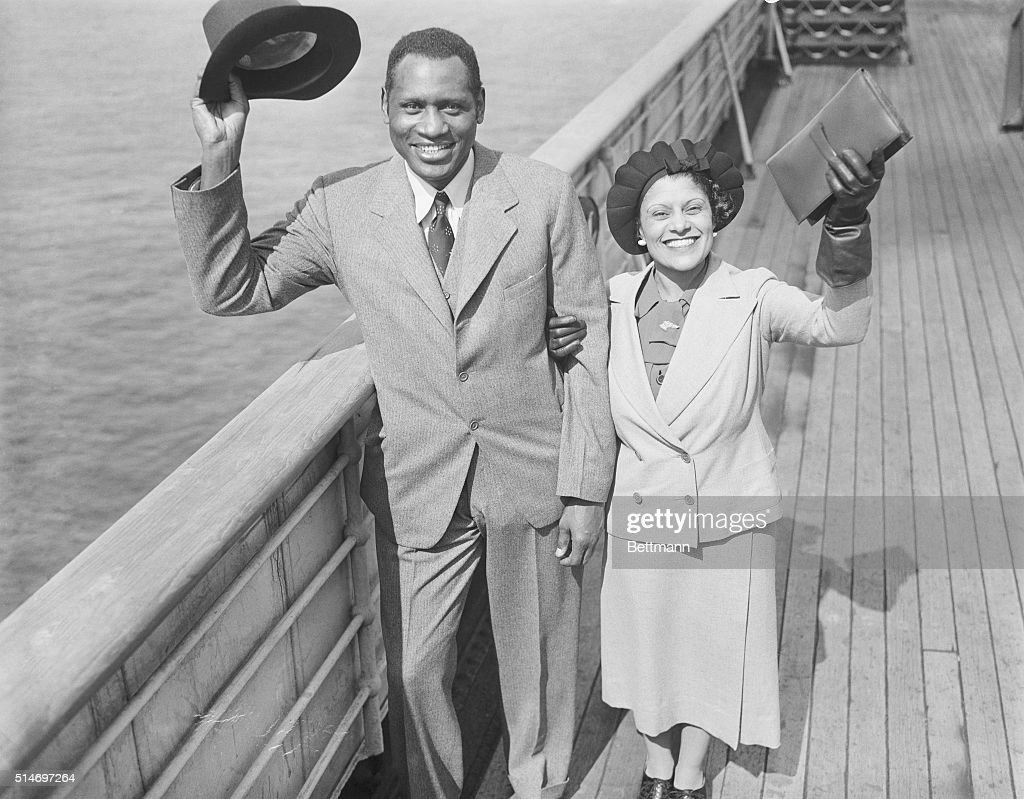 As actors, paul robeson and lena horne both