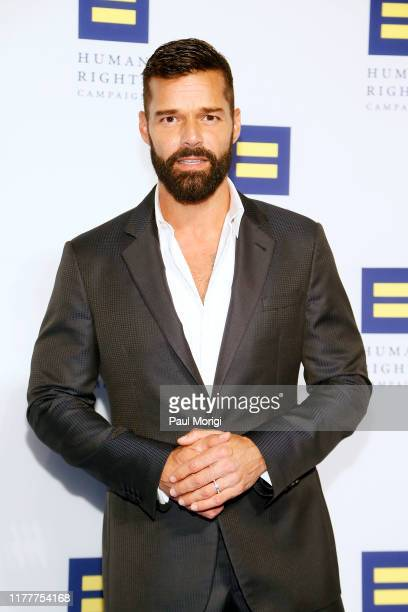 Singer and actor Ricky Martin is honored at the 23rd Annual Human Rights Campaign National Dinner at the Washington Convention Center on September...