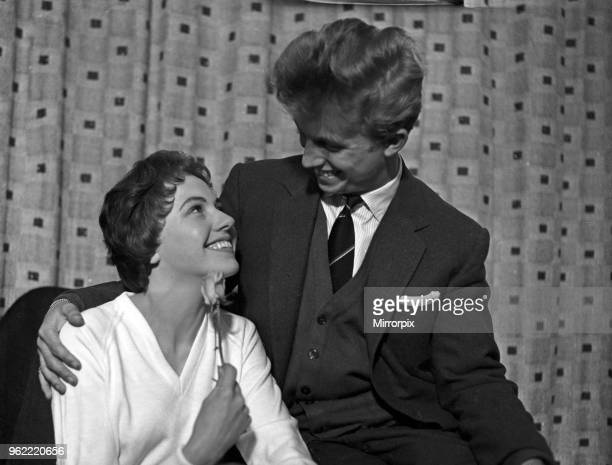 Singer and actor Tommy Steele announces his engagement to Ann Donoghue 11th June 1958