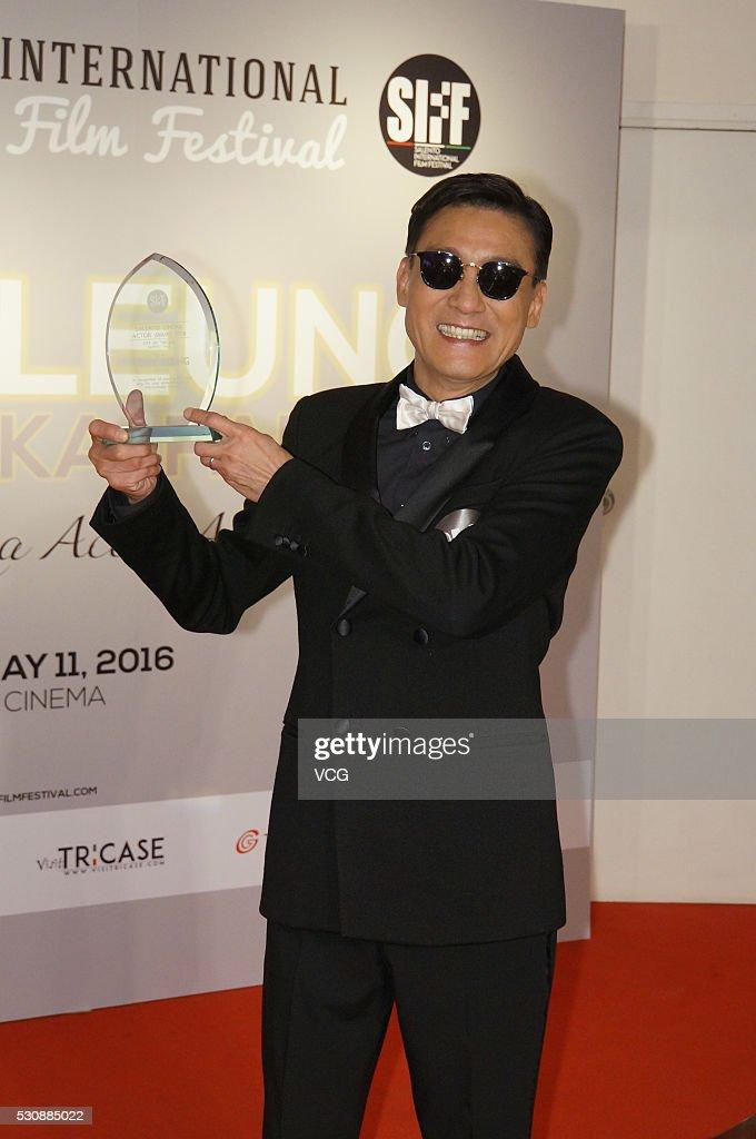 Tony Leung Ka Fai Attends 2016 Hong Kong Salento International Film Festival