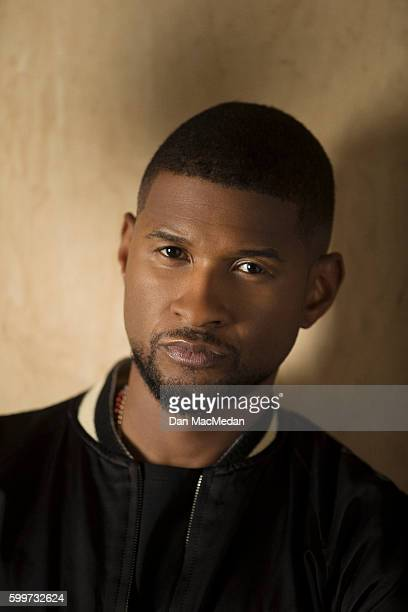 Singer and actor Usher is photographed for USA Today on August 15 2016 in Los Angeles California