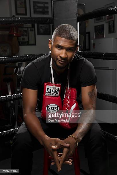 Singer and actor Usher is photographed for USA Today on August 15 2016 in Los Angeles California PUBLISHED IMAGE