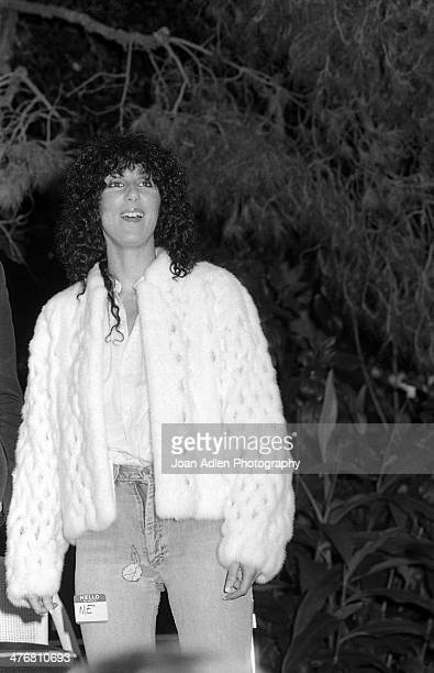 Singer and actress Cher attends an ERA event hosted by and at the home of actress producer and social activist Marlo Thomas in Beverly Hills...