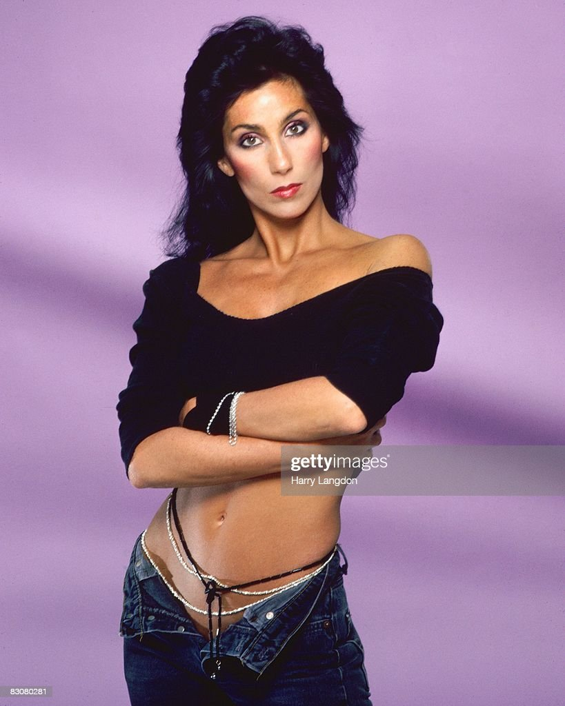 Singer and actress Cher poses for a photo session in July 1984 in Los Angeles, California.